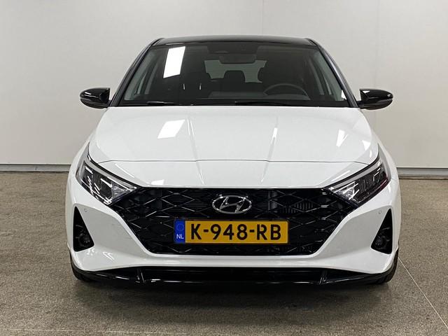 Hyundai i20 1.0 T-GDI Premium Ruim 3500 euro Demo Voordeel Met 17 Inch Velgen, Navigatie en Camera