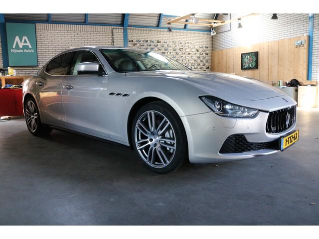 Maserati Ghibli 3.0 V6 D Cruise | Leer | Panoramadak | 20Inch | Camera | Sport & Sound | Stuur Stoel Verwarming | Adaptief onderstel | NAP | NP
