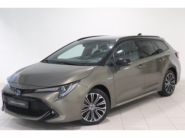 Toyota Corolla Touring Sports 1.8 Hybrid Dynamic Bi tone Limited, Stuur, Voorruit en Stoelverwarming HUD, Apple Carplay