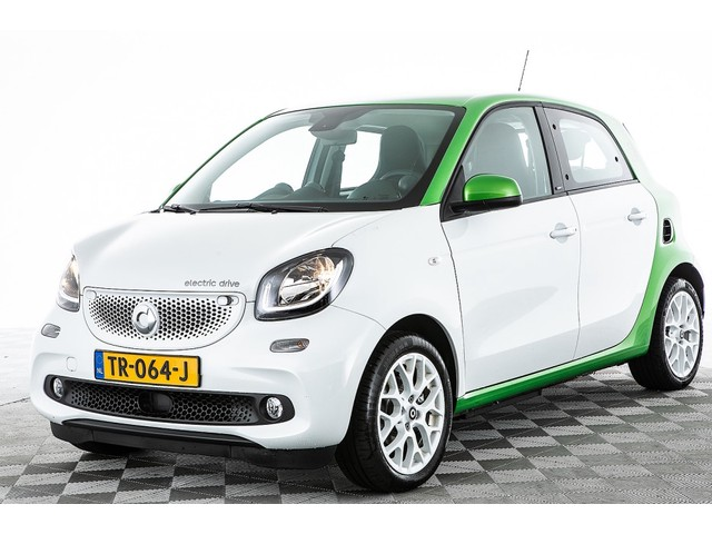 Smart Forfour Electric Drive Prime | NAVI | LEDER | Automaat -A.S. ZONDAG OPEN!-