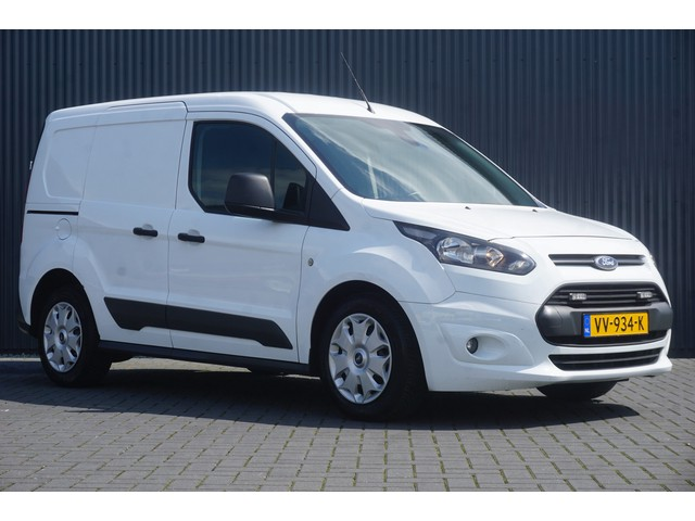 Ford Transit Connect 1.6 TDCI L1H1, Airco, Cruise, PDC, Navi, Camera, 3-Zits