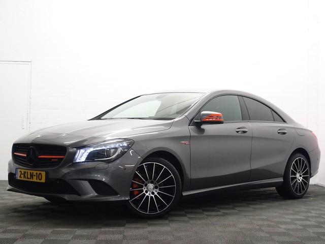 Mercedes-Benz CLA-Klasse 200 157pk Orange Art Edition Autom Leder, Full  map Navi, Xenon Led, LMV