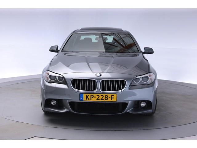 BMW 5 Serie 520i M Sport Edition Aut. [Memory xenon schuifdak leder navi prof m-pakket ]