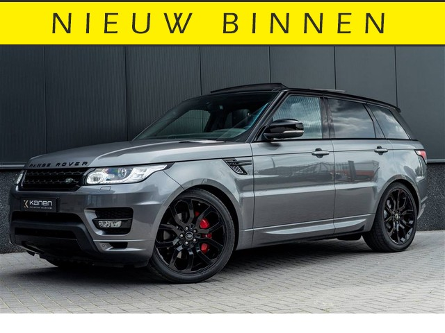 Land Rover Range Rover Sport 5.0 V8 Supercharged Autobiography 510PK Luchtv. Panodak Meridian Camera