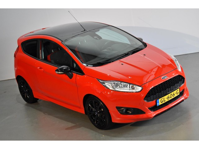 Ford Fiesta 1.0 EcoBoost Red Edition ✅140PK ✅Navi ✅Uitstraling!