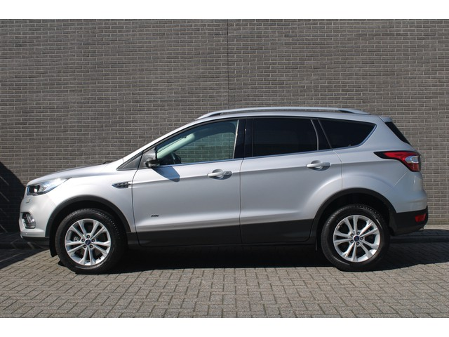 Ford Kuga 1.5 EcoBoost ST Line Automaat Cruise Climate control, Navigatie, Verw.voorruit, Trekhaak, L.M. velgen,