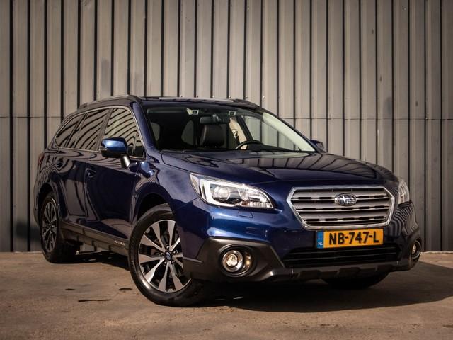 Subaru Outback 2.5i Premium, 4WD, Automaat, Leer, Panorama-Dak, 1-Ste-Eigenaar, Dealer-Onderh., Adaptieve-Cruise-Control, Trekhaak, NL-Auto