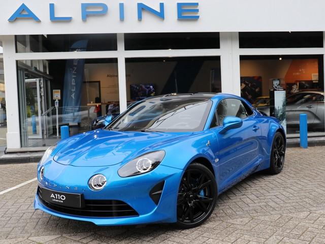 ALPINE A110 1.8 Turbo Legende Unieke Bleu Alpine Legende met carbon dak en zwarte hoogglans 18