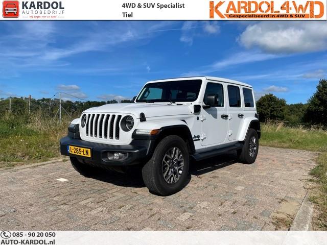 Jeep Wrangler Unlimited 4xe 380 80th Anniversary SKY   Rijklaarprijs INCL BTW DIRECT RIJDEN