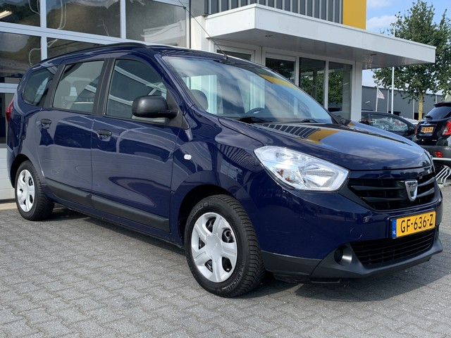 Dacia Lodgy 1.2 TCe Ambiance 7 persoons Cruise control Dakrails