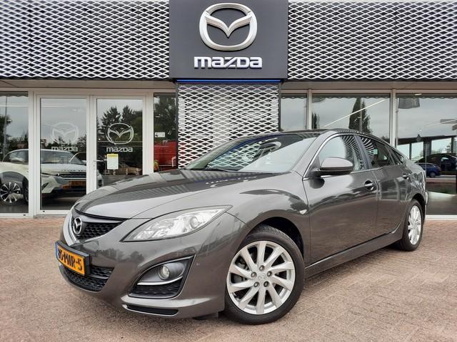 Mazda 6 HB 2.0 TS   LEDER   STOELVERWARMING   ECC   RIJKLAARPRIJS