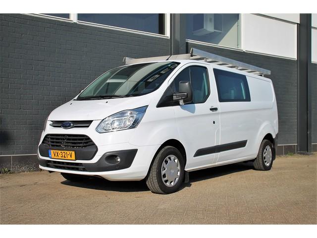 Ford Transit Custom 290 2.0 TDCI 130PK L2H1 Dubbele cabine - Airco - Cruise - Imperiaal - €13.900,- ex.