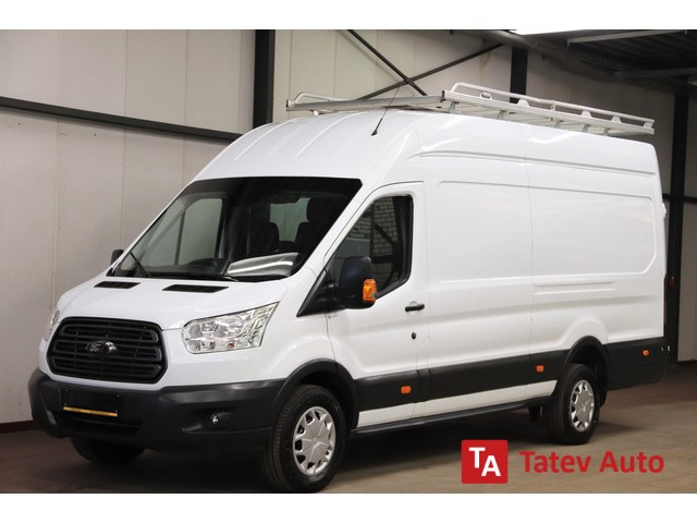 Ford Transit L3H2 DUBBEL CABINE IMPERIAAL TREKHAAK AIRCO