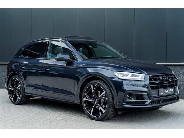 Audi Q5 2.0 TFSI Quattro S-line 252PK Panodak Luchtv. S-stoelen ACC Head up 360camera