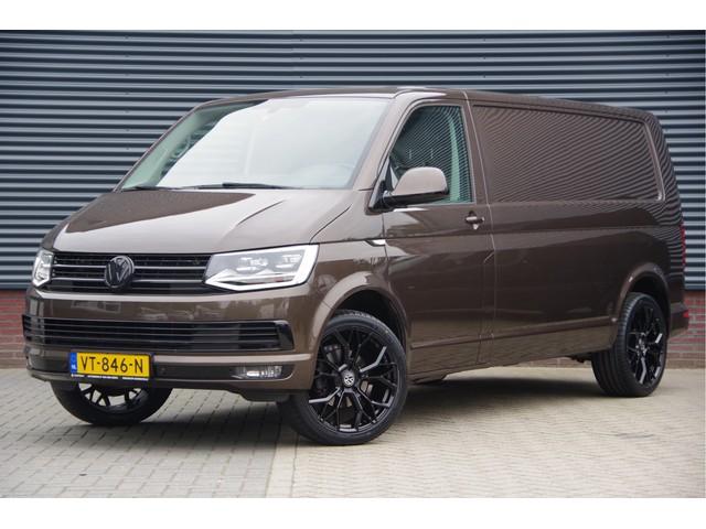 Volkswagen Transporter 2.0 TDI L2H2 Highline BLACK EDITION 140PK AUTOMAAT, LED, LEDER, NAVI, CRUISE, PDC, AIRCO