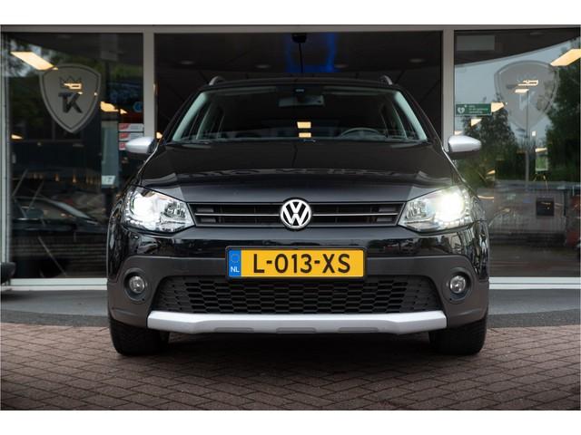Volkswagen Polo Cross 1.2 TSI Highline Navigatie Stoelverwarming Leddagrijverlichting Xenon Zondag a.s. open!