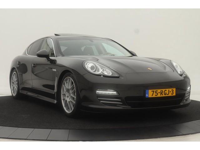 Porsche Panamera 4.8 4S   85.000km   BOSE   Memory   Leder   Schuifdak   Stoelventilatie   Navigatie   Elektrische achterklep   Xenon