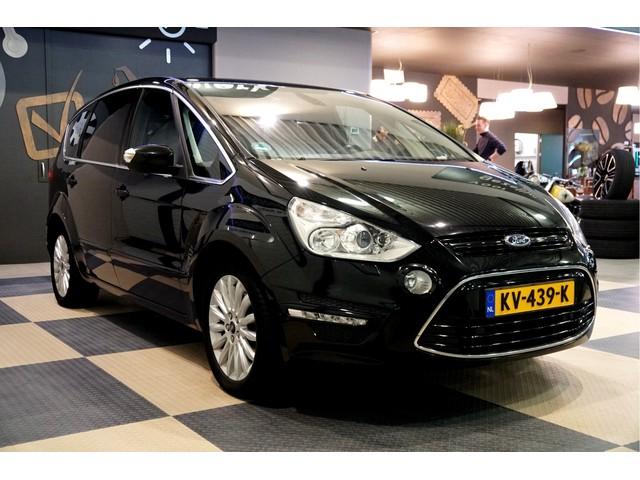Ford S-Max 2.0 TDCi 103kW 140pk 6-bak Platinum CLIMA + CRUISE + ADAPT.XENON + NAVI KLEUR + LEER + DSP AUDIO + EL.STOEL MET MEMORY + TREKHAA
