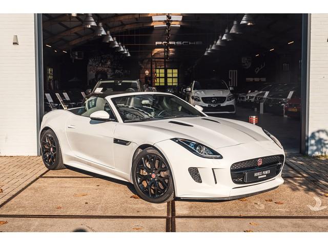 Jaguar F-Type 3.0 V6 Convertible NAVI * LEDER * Sport Uitlaat* Black Pack * Camera