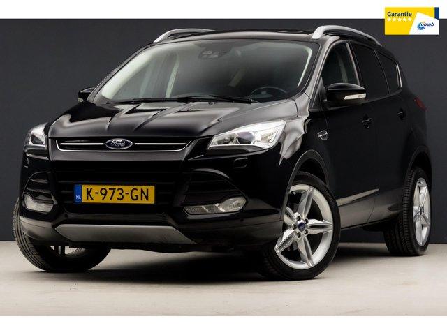 Ford Kuga 1.6 Titanium Plus Sport 150Pk (PANORAMADAK, NAVIGATIE, LEDER, STOELVERW, XENON, AUTO PARKEREN, KEYLE