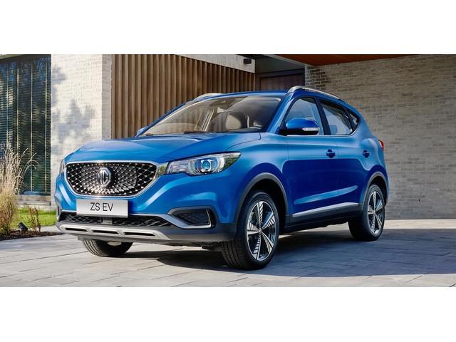 MG ZS EV Luxury 100 % Elektrisch