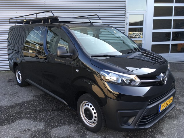 Toyota ProAce Worker 2.0 D-4D L3 MARGE DC Dubbel Cabine 6 P Imperiaal Camera Cruise Trekhaak Airco