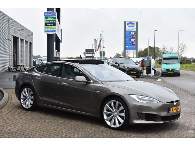 Tesla Model S 60 Leder, *EX BTW* Autopilot, Panoramadak, LED, Camera