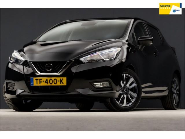 Nissan Micra 0.9 IG-T N-Connecta Edition Sport (NAVIGATIE, CAMERA, SPORTSTOELEN, GETINT, LM VELGEN, CLIMATE, BLUETOOTH, NIEUWSTAAT)