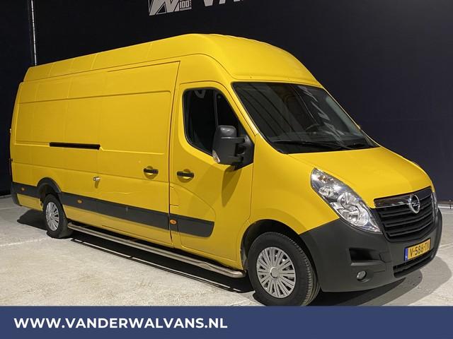 Opel Movano 2.3CDTI BiTurbo L4H3 DHL-GEEL Euro6 Airco, cruise, camera, navigatie, 3-zits