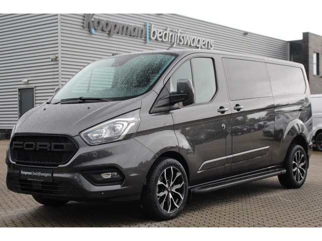 Ford Transit Custom 300 2.0TDCI 170pk L2H1 Limited DC | Cruise | Airco | L+R Zijdeur | Automaat | Navi | Camera | PDC | Lease 574,- p m