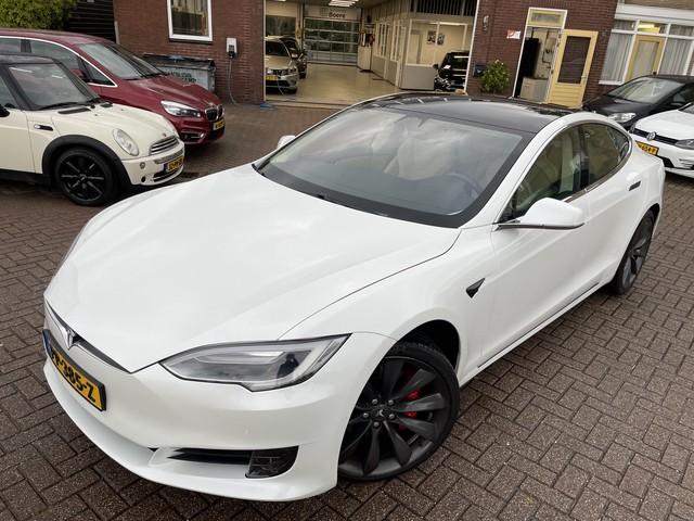 Tesla Model S 75 Base Ex.Btw, Autopilot, Pano-Dak