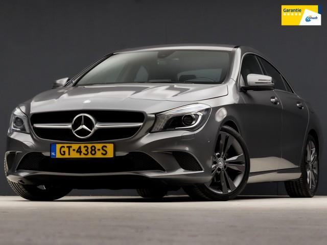 Mercedes-Benz CLA-Klasse 200 Edition Sport 157Pk Automaat (GROOT NAVIGATIE, STOELVERW, SFEERVERLICHTING, ZWART HEMEL, XENON, BLUETOOTH, NIEUWSTAAT)