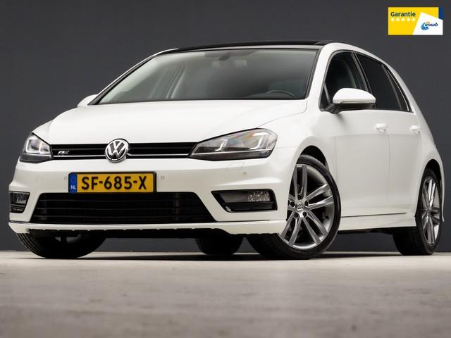 Volkswagen Golf 1.4 TSI Edition R Line Automaat (SCHUIFDAK, R-LINE INTERIEUR, GROOT NAVI, XENON, STOELVERWARMING, DYNAUDIO, PARKEERSENS, NIEUWST